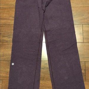 Lululemon Athletica purple sweat pants size 2